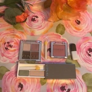 Bundle of new Clinique eyeshadow sets and blush